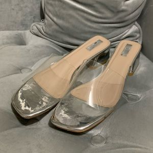 Forever21 clear sandals